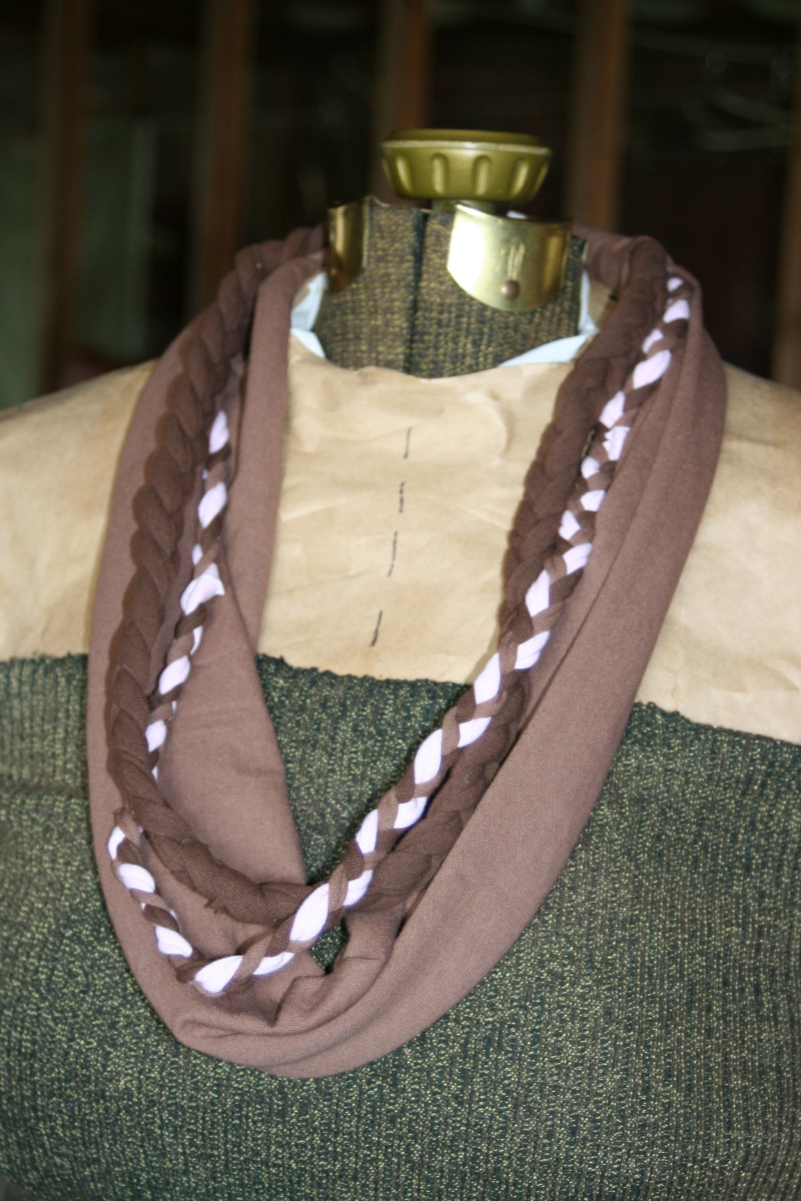8 simple to make no sew variations of the t shirt scarf