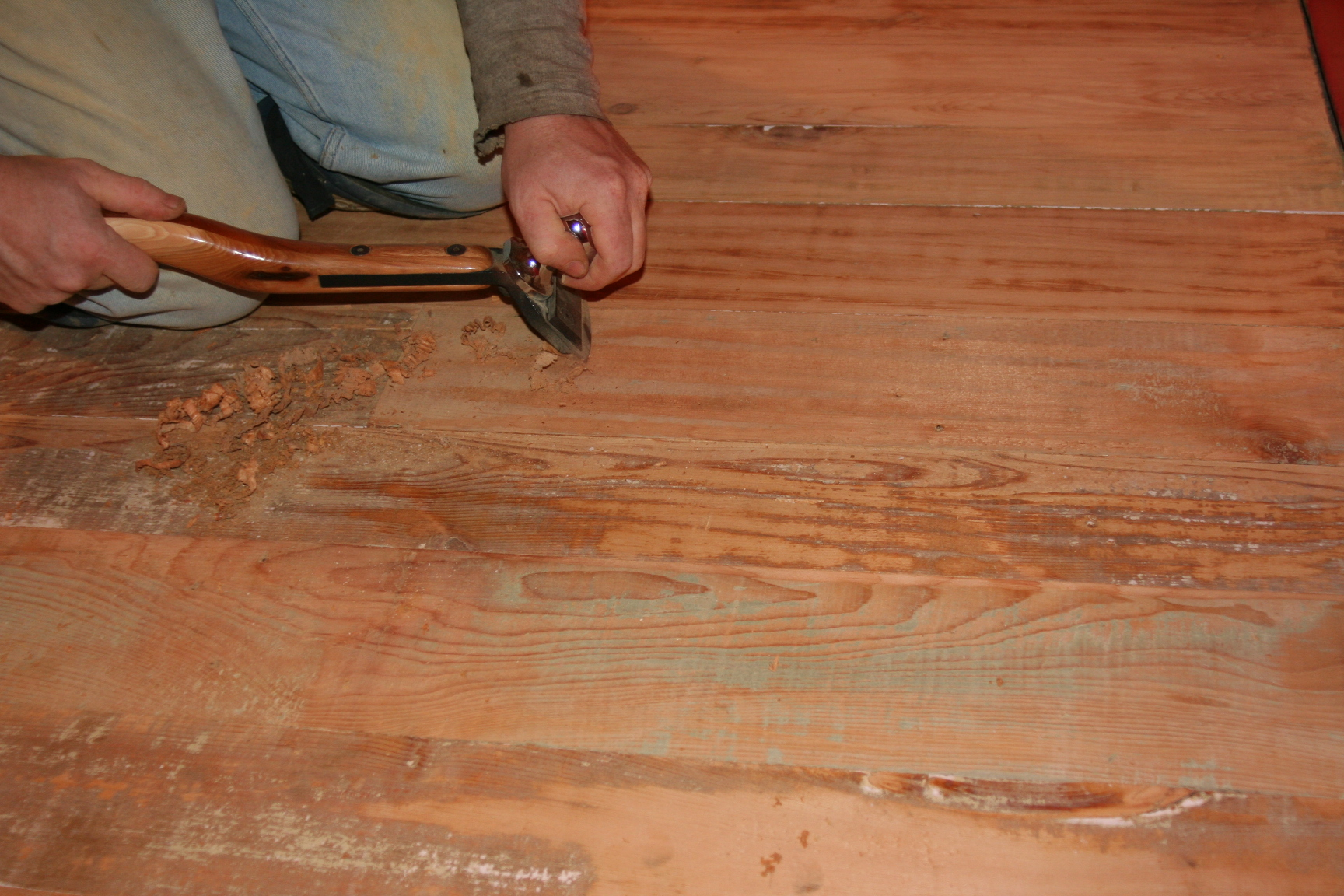 Diy Hand Scraping Wood Plans Free