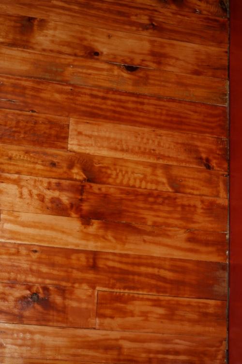 hand scraped floor