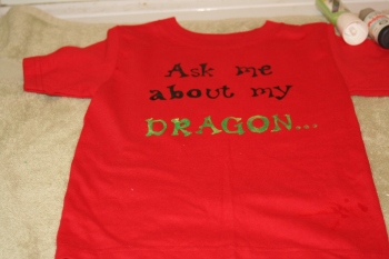 Ask me about my dragon text